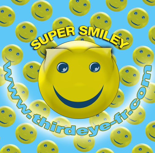 2D Digital Art - SUPERSMILEY