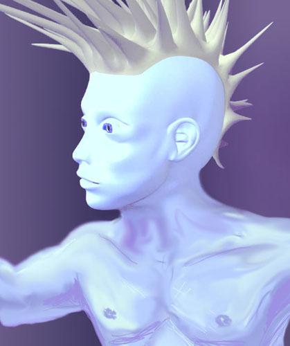 3D Images - Punky 642