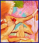 Painting – Karibou