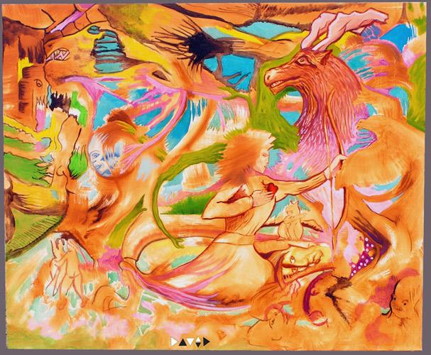 Painting-karibou